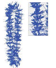 Blue Tinsel Lei