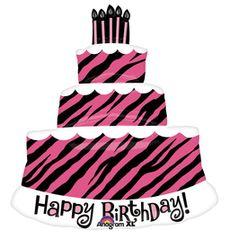 """Happy Birthday Oh So Fabulous Super Shape Balloon 32"""""""