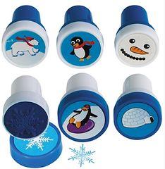 Winter Fun Plastic Stamper Set