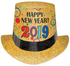 """2019"" New Year's Prismatic Top Hat"