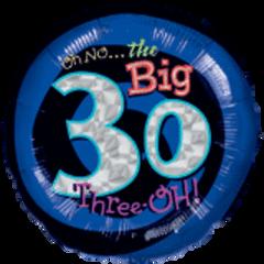 """Oh No My 30 Birthday 18"""""""