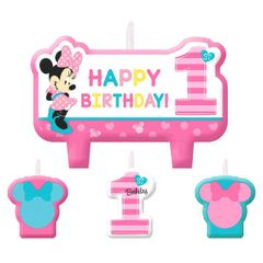 ©Disney Minnie's Fun To Be One Birthday Candle Set