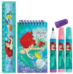 ©Disney Ariel Stationery Set