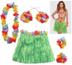 Adult Hula Skirt Kit, 5pc