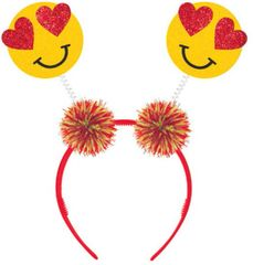 Valentine Emoji Head Bopper