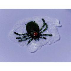 Big Plastic Spider & Polyester Web