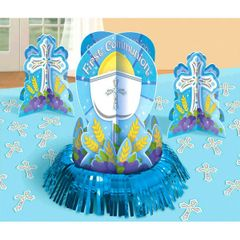 Communion Blue Table Decorating Kit