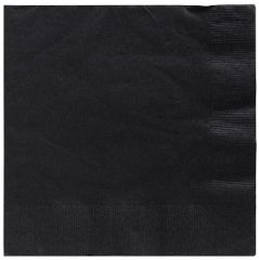 Big Party Pack Black Beverage Napkins, 125ct