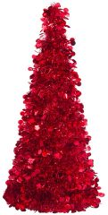 Large Tree Centerpiece - Red