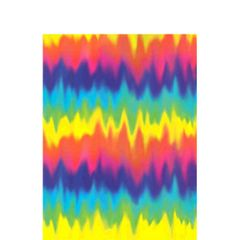 Feeling Groovy Paper Table Cover