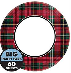 """Holiday Charm Round Plate, 9"""""""