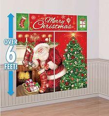 Magical Christmas Wall Scene Setters Decorating Kit