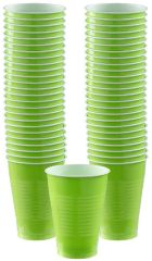 Big Party Pack Kiwi Plastic Cups, 12oz - 50ct