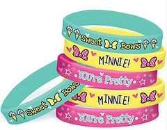 ©Disney Minnie Mouse Happy Helpers Rubber Wristbands