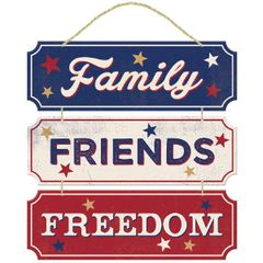 Americana Friends/Family Fun Sign