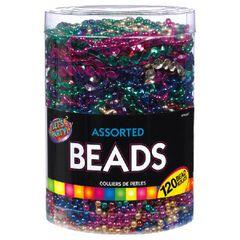 Bead Necklace - Rainbow, 100 ct.