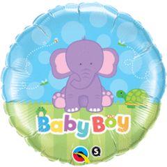 Baby Boy Elephant 18in