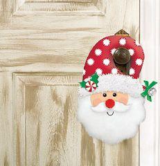 Plush Santa Door Hanger