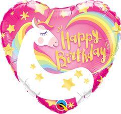 "Magical Unicorn Birthday Balloon 18"""
