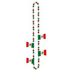 Cinco Flag Necklace