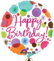 Happy Birthday Polka Dots