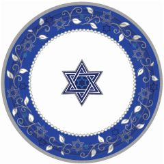 Joyous Holiday Passover Dinner Plates, 8ct