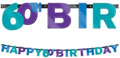 The Party Continues - 60 Foil Letter Banner