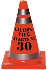 30th Birthday Safety Cone