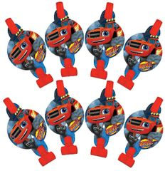 Blaze and the Monster Machines™ Blowouts, 8ct