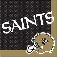 New Orleans Saints Luncheon Napkins, 16ct