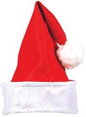 Santa Hat w/Folded Cuff