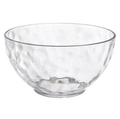Hammered Clear Bowls, 3ct