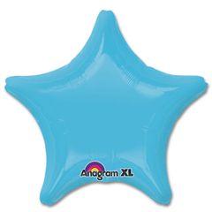Star 17 Caribbean Blue Mylar Balloon 18in