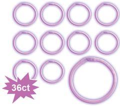 Purple Glow Bracelets, 36ct