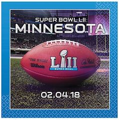 """Super Bowl LII"" Lunch Napkins"