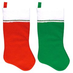 Red & Green Christmas Stockings