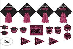Berry Graduation Cutouts