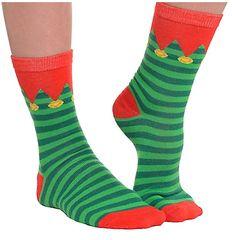 Elf Crew Socks