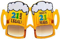 21st Birthday Beer Sunglasses