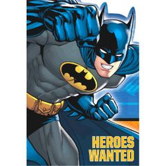 Batman™ Postcard Invitations, 8ct