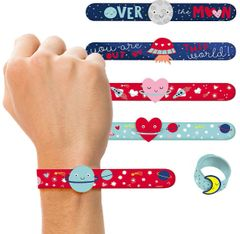 Space Slap Bracelet Favors, 6ct