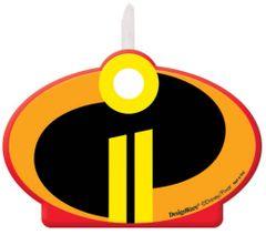 ©Disney/Pixar Incredibles 2 Birthday Candle