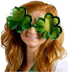 Giant Shamrock Sunglasses