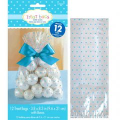 Baby Shower Cello Treat Bags - Blue