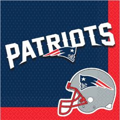 New England Patriots Luncheon Napkins, 16ct