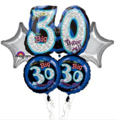 Oh No It's my 30th Birthday Balloon Bouquet 26""