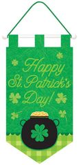 Happy St. Patrick's Day! Door Banner