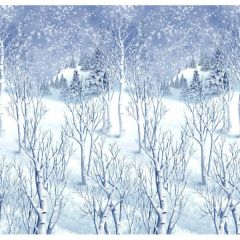 Winter Wonderland Scene Setters Plastic Room Rolls