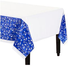 Joyous Holiday Plastic Table Cover