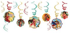 ©Disney Elena of Avalor Value Pack Foil Swirl Decorations